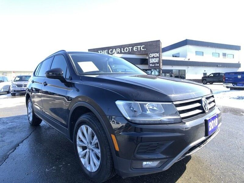 2018 Volkswagen Tiguan Trendline AWD PREVIOUS DAILY RENTAL Greater Sudbury ON