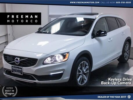 2018_Volvo_V60 Cross Country_AWD Heated Seats Back-Up Cam Blind Spot Assist_ Portland OR