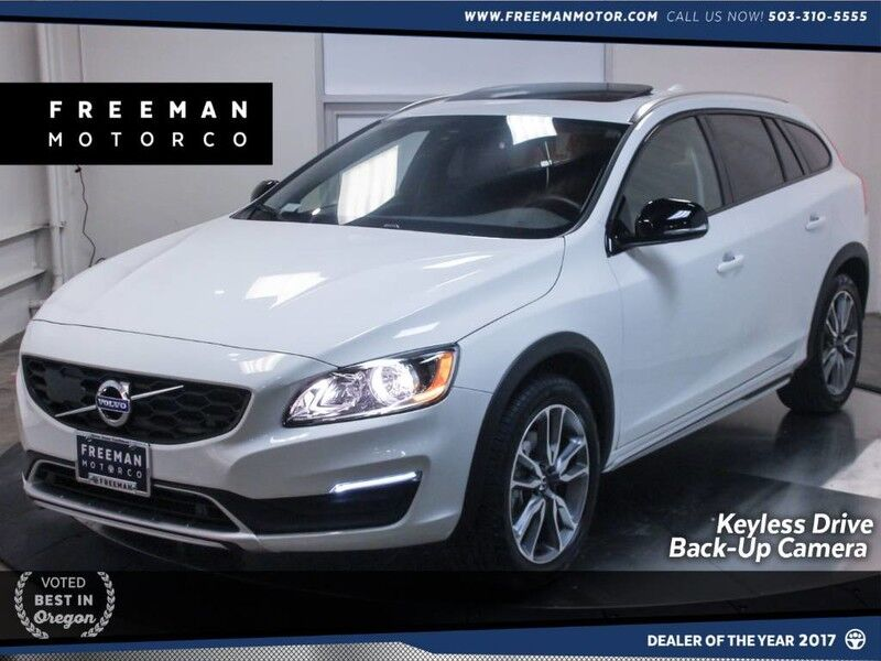 2018 Volvo V60 Cross Country AWD Heated Seats Back-Up Cam Blind Spot Assist Portland OR