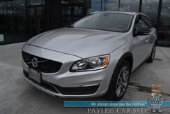 2018_Volvo_V60 Cross Country_T5 / AWD / Convenience Pkg / Power & Heated Leather Seats / Heated Steering Wheel / Navigation / Sunroof / Bluetooth / Back Up Camera / Blind Spot Alert / Keyless Entry & Start / 30 MPG_ Anchorage AK