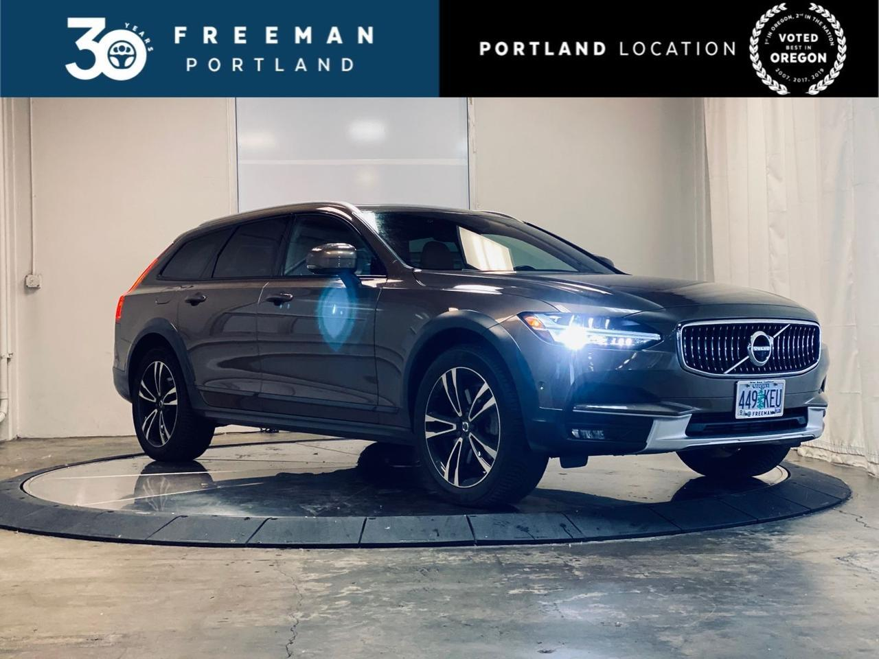 2018 Volvo V90 Cross Country T5 AWD Surround View Cam Htd Steering Wheel Portland OR