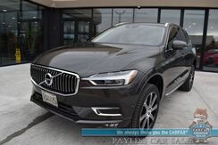 2018_Volvo_XC60_T6 Inscription / AWD / Advance Pkg / Luxury Seat Pkg / Vision Pkg / Convenience Pkg / Air Suspension / Heated Leather Seats & Steering Wheel / Sunroof / Navigation / Bowers & Wilkins Speaerks / Adaptive Cruise / 1-Owner_ Anchorage AK