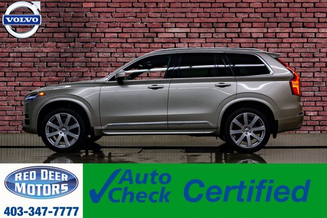 2018 Volvo XC90 AWD T6 Inscription Leather Roof Nav Red Deer AB