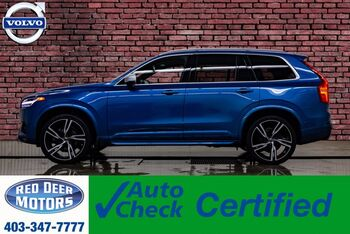 2018_Volvo_XC90_AWD T6 R-Design Leather Roof Nav BCam_ Red Deer AB