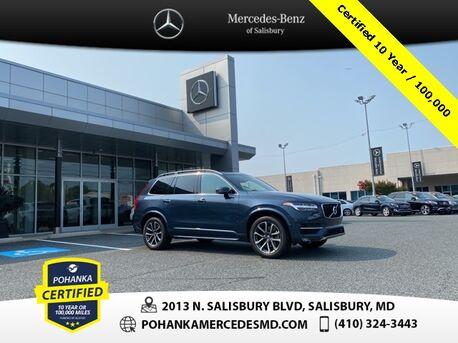 2018_Volvo_XC90_T6 Momentum AWD ** Pohanka Certified 10 Year / 100,000  **_ Salisbury MD