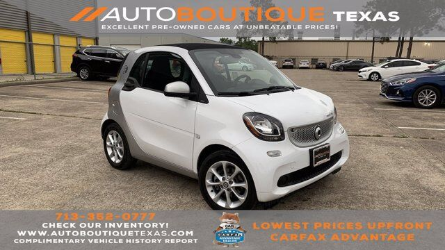 2018 smart fortwo electric drive passion Houston TX
