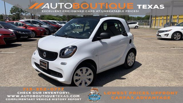 2018 smart fortwo electric drive pure Houston TX