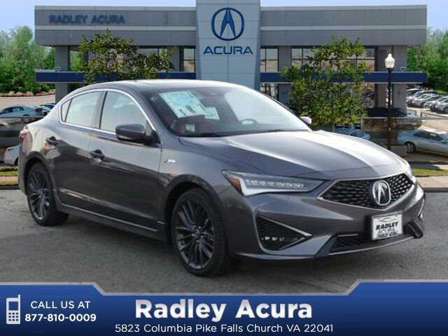 2019 Acura ILX Technology and A-Spec Package Falls Church VA
