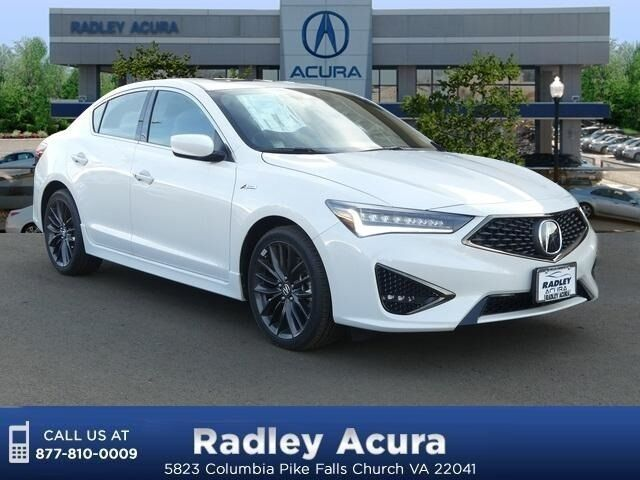 2019 Acura ILX Technology and A-Spec Packages Falls Church VA