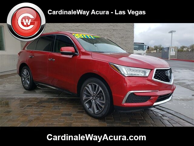 2019 Acura MDX 3.5L Technology Package Las Vegas NV