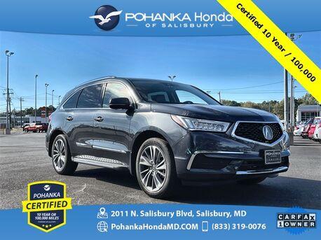 2019_Acura_MDX_3.5L Technology Package SH-AWD ** Pohanka Certified 10 Year / 100,000 **_ Salisbury MD