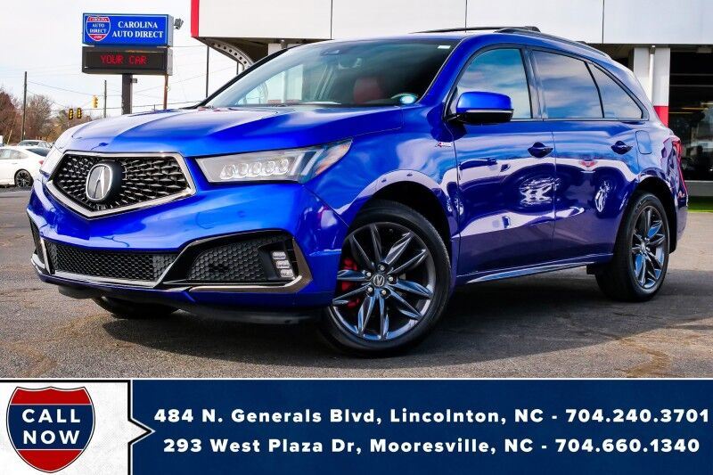 2019 Acura MDX SH-AWD *Technology/A-Spec Pkg*3rd ROW*1-Owner*