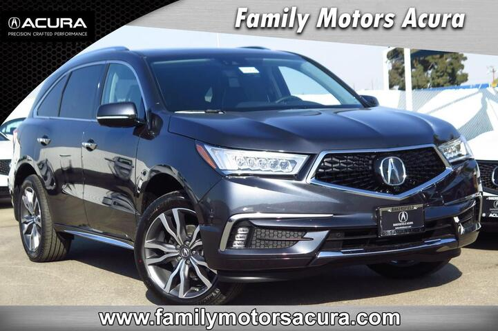 2019 Acura MDX SH-AWD with Advance Package Bakersfield CA
