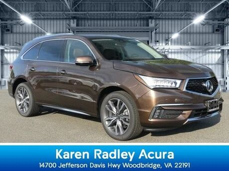 2019 Acura MDX SH-AWD with Advance Package Northern VA DC
