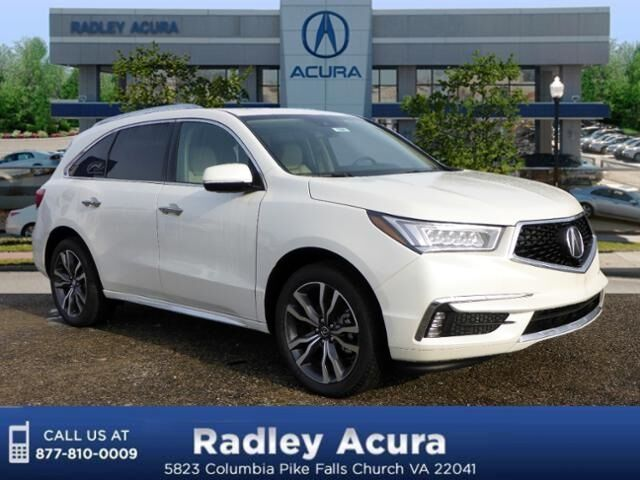 2019 Acura MDX SH-AWD with Advance and Entertainment Packages Falls Church VA