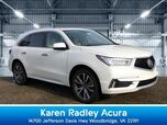 2019 Acura MDX SH-AWD with Advance and Entertainment Packages