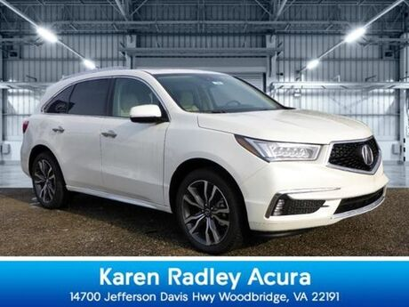 2019 Acura MDX SH-AWD with Advance and Entertainment Packages Woodbridge VA