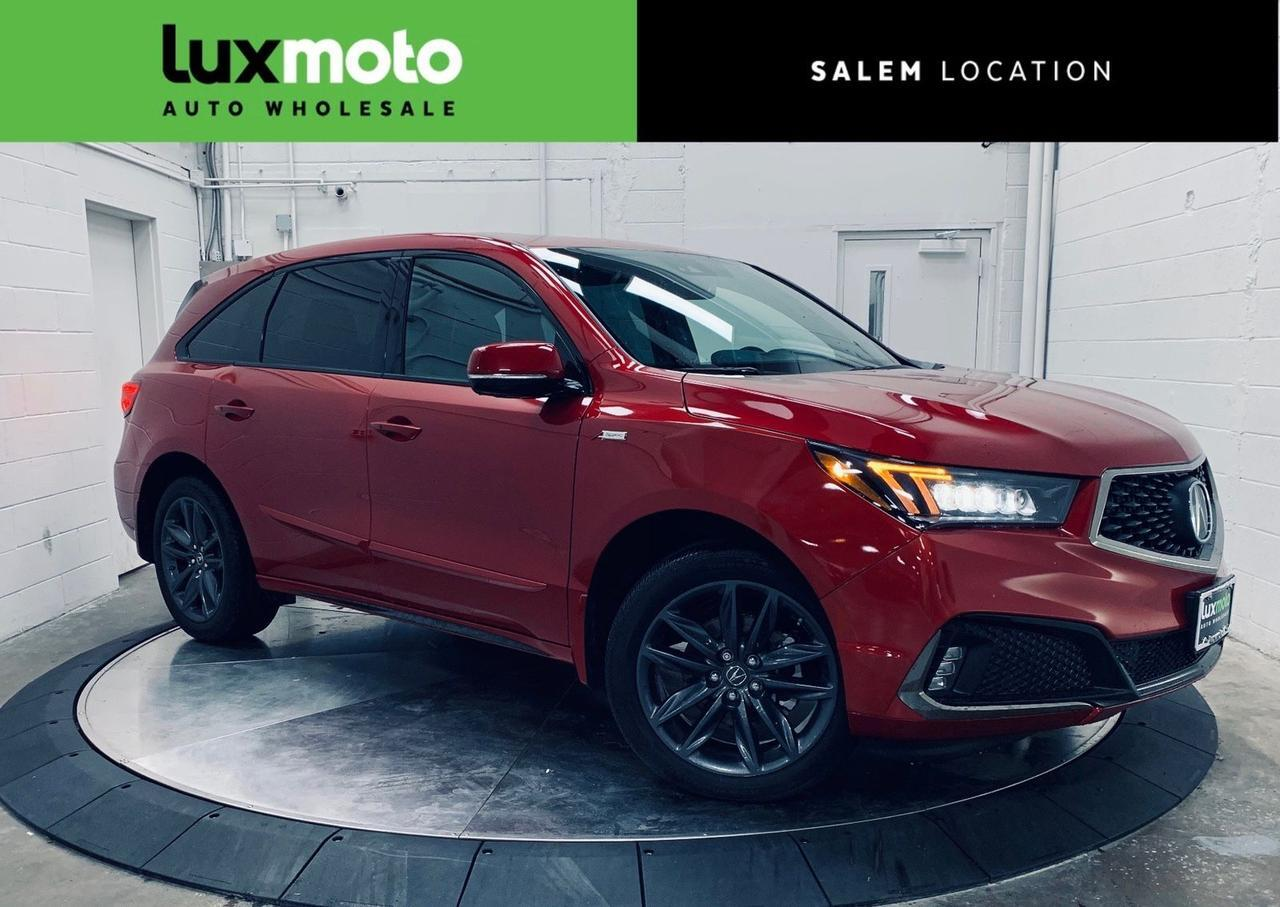 2019 Acura MDX Technology Pkg A-Spec Pkg 3rd Row Seating Portland OR