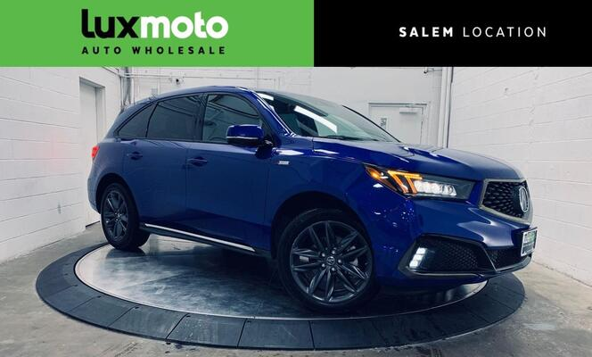 2019_Acura_MDX_Technology Pkg A-Spec Pkg Adaptive Cruise_ Portland OR