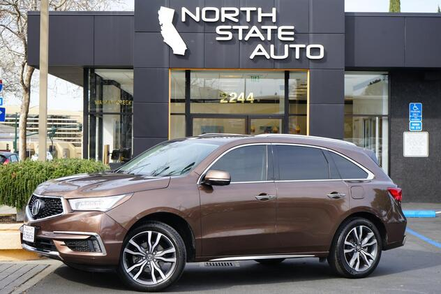 2019_Acura_MDX_w/Advance Pkg_ Walnut Creek CA