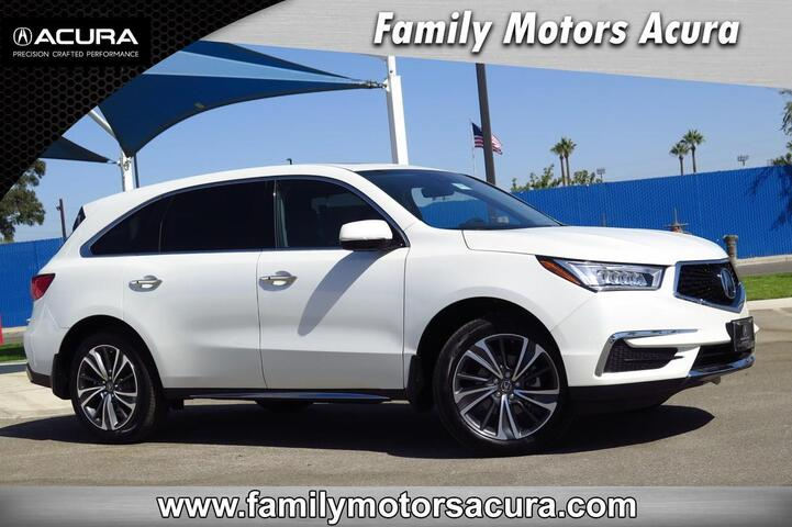 2019 Acura MDX with Technology and Entertainment Package Bakersfield CA