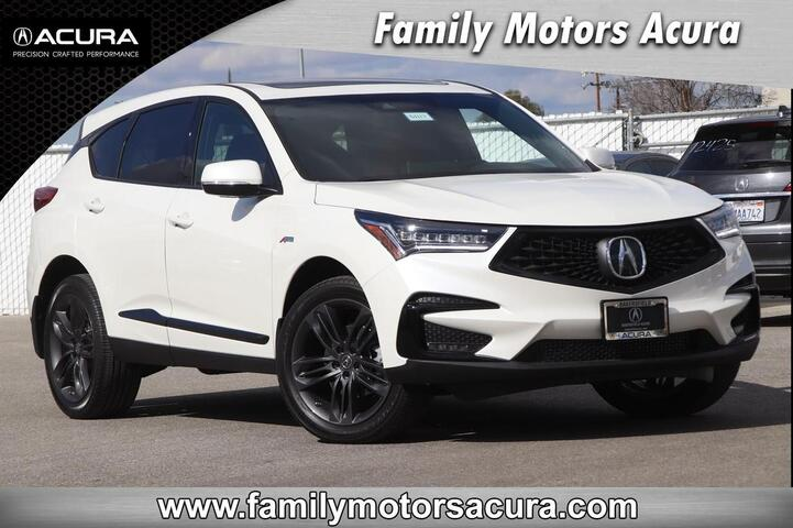2019 Acura RDX SH-AWD with A-Spec Package Bakersfield CA