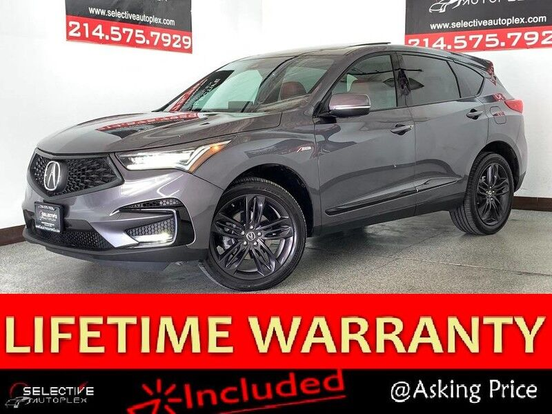 2019 Acura RDX w/A-Spec Pkg, NAV, PANO ROOF, LEATHER SEATS, REAR VIEW CAM