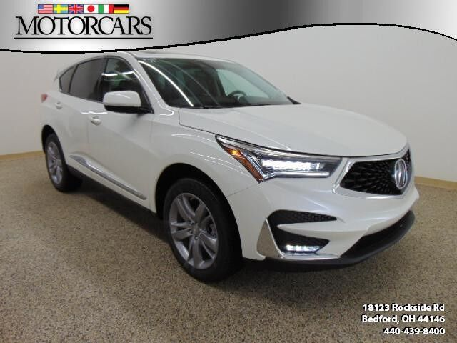 2019 Acura Rdx W Advance Pkg Bedford Oh 26916763