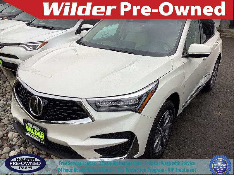 2019 Acura RDX w/Technology Pkg Port Angeles WA