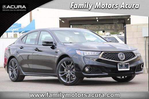 2019 Acura TLX 3.5 V-6 9-AT SH-AWD with A-SPEC RED Bakersfield CA