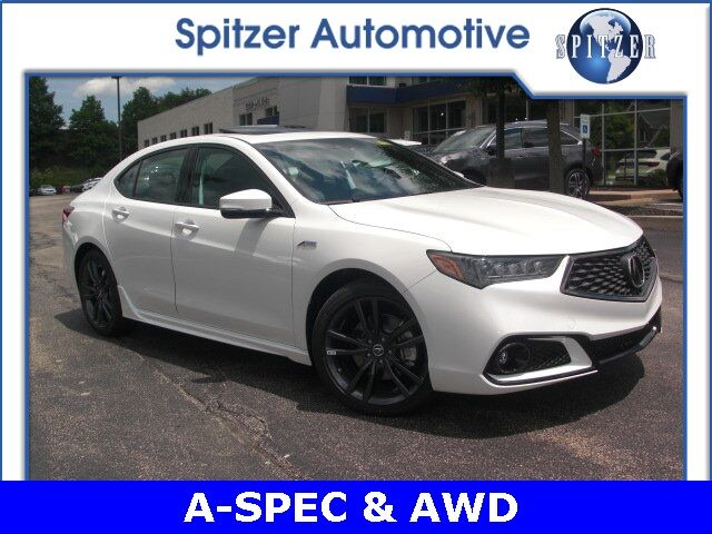 2019 Acura TLX 3.5 V-6 9-AT SH-AWD with A-SPEC RED McMurray PA