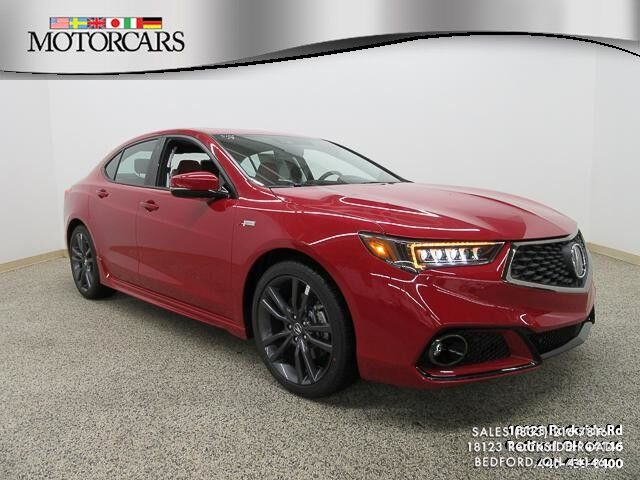 2019 Acura TLX A-Spec Red Bedford OH