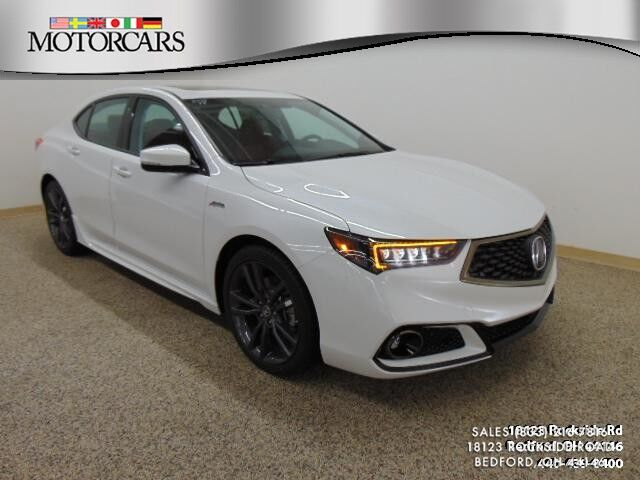 2019 Acura TLX w/A-SPEC Pkg Red Leather Bedford OH