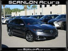2019_Acura_TLX_w/A-SPEC Pkg Red Leather_ Fort Myers FL