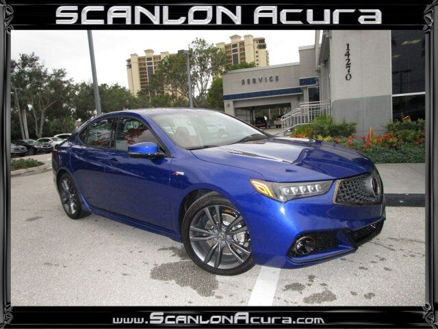 2019 Acura TLX w/A-SPEC Pkg Red Leather Fort Myers FL