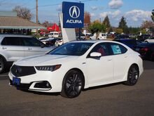 2019_Acura_TLX_w/A-Spec Pkg Red Leather_ Salem OR