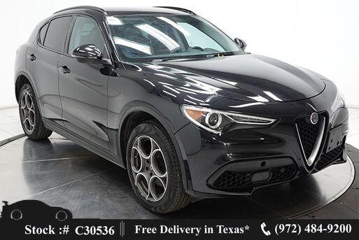 2019_Alfa Romeo_Stelvio_NAV,CAM,HTD STS,PARK ASST,BLIND SPOT,19IN WLS_ Plano TX