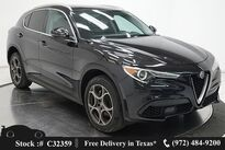 Alfa Romeo Stelvio NAV,CAM,PANO,HTD STS,PARK ASST,19IN WHLS 2019