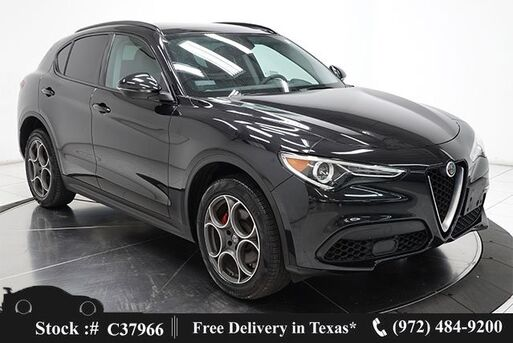 2019_Alfa Romeo_Stelvio_NAV,CAM,PANO,PARK ASST,18IN WLS_ Plano TX