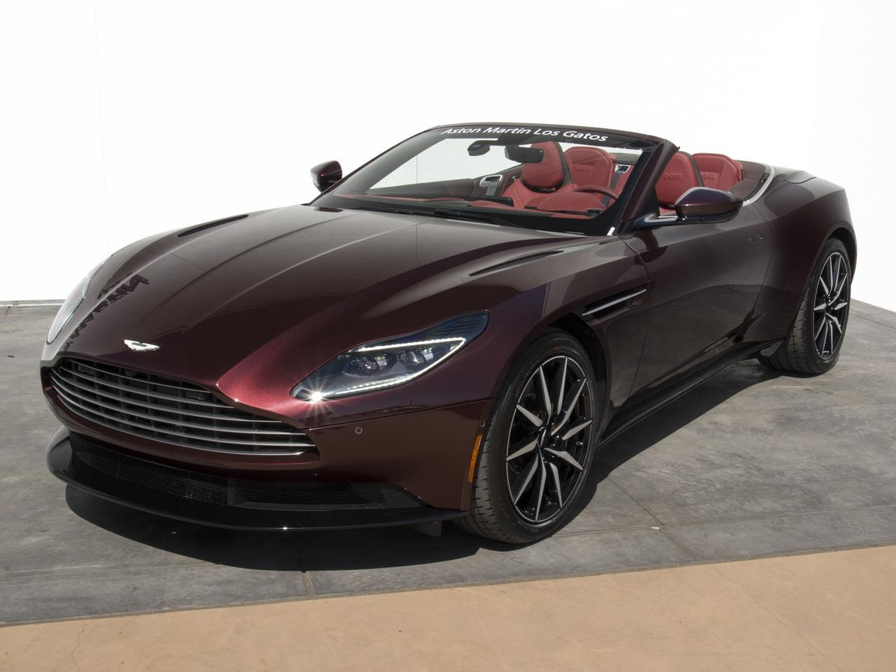 New 2019 Aston Martin Db11 Volante Volante In Los Gatos Ca