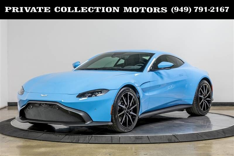2019_Aston Martin_Vantage_Rare Color 1 Owner Only 5k Miles_ Costa Mesa CA