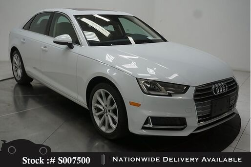 2019_Audi_A4_2.0T Premium CAM,SUNROOF,HTD STS,HID LIGHTS_ Plano TX