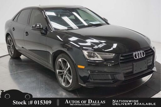 2019_Audi_A4_2.0T Premium CAM,SUNROOF,HTD STS,PARK ASST,BLIND S_ Plano TX