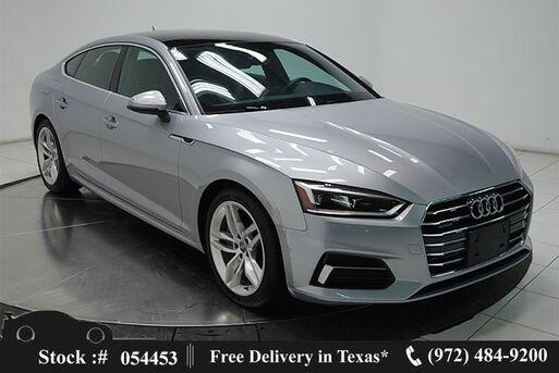 2019_Audi_A5_2.0T Premium NAV,CAM,PANO,HTD STS,PARK ASST,18IN W_ Plano TX