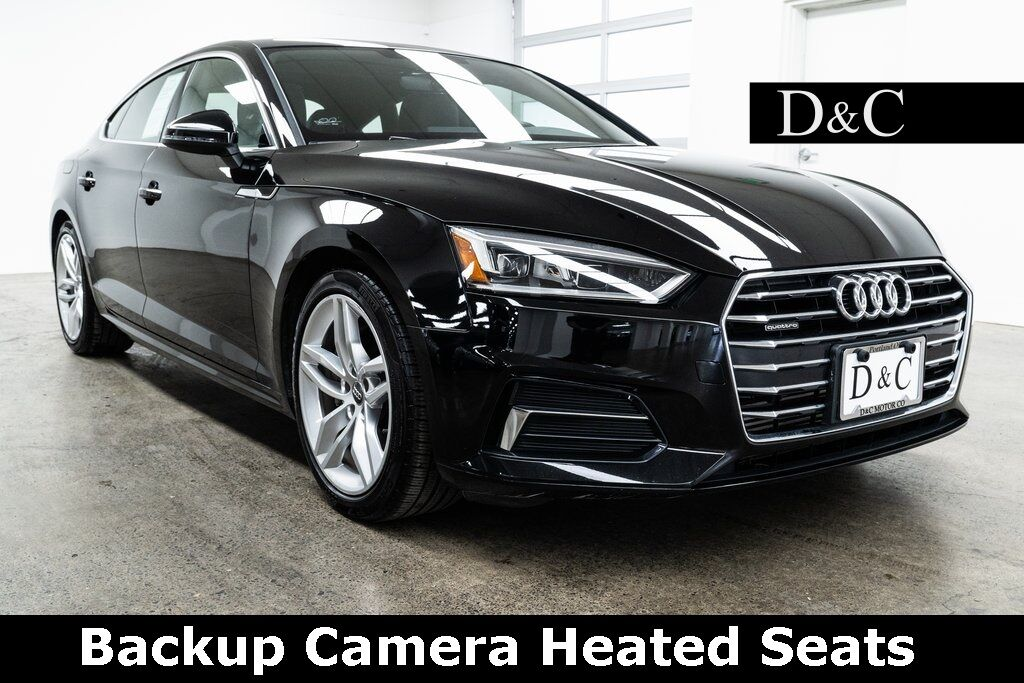2019 Audi A5 2.0T Premium quattro Backup Camera Heated Seats Portland OR