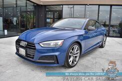 2019_Audi_A5 Sportback_AWD / Premium Plus Pkg / Black Optics Pkg / S-Line Sport Pkg / Heated and Cooled Leather Seats / Bang & Olufsen Speakers / Panoramic Sunroof / Navigation / Bluetooth / Back Up Camera / 34 MPG / Only 14k miles / 1- Owner_ Anchorage AK