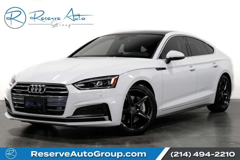 2019 Audi A5 Sportback Premium Plus S-Line B&O Sound Cooled Seats The Colony TX