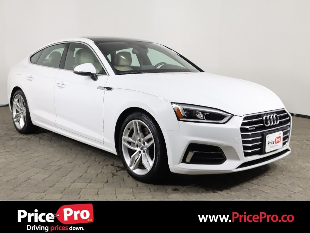 2019 Audi A5 Sportback Premium Quattro w/Heated Leather/Pano Roof Maumee OH