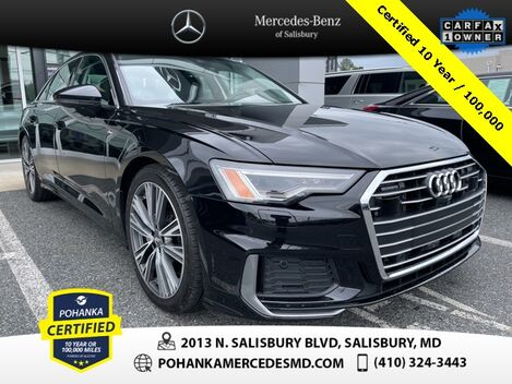 2019_Audi_A6_3.0T Premium Plus Quattro AWD/NAVI ** Pohanka Certified 10 year / 10_ Salisbury MD