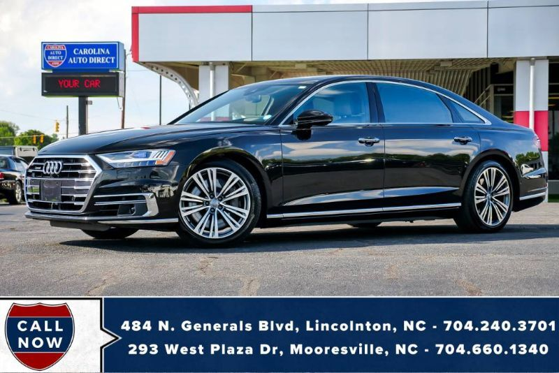 2019 Audi A8 4.0 LWB Quattro AWD w/ Massaging Front Seats